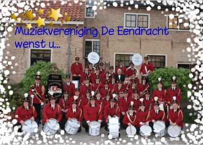 kerstkaart muziekvereniging