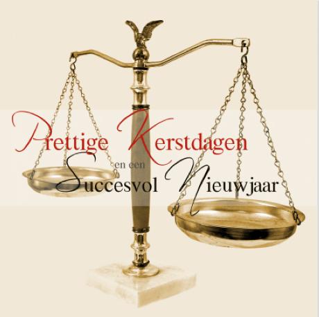 kerstkaart advocaat van Kaartje2go